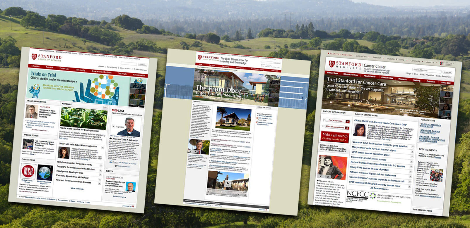 Stanford Medicine - Website architecture & design