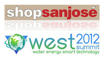 Shop San Jose / West2 logos