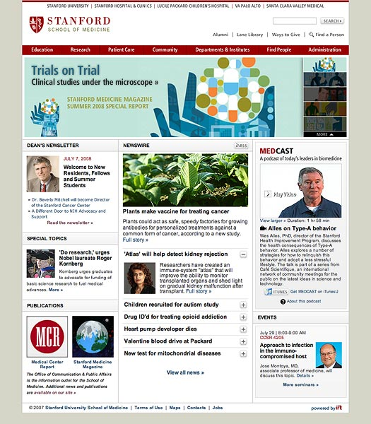 Stanford Medicine Redesigns - Kevin T  Boyd
